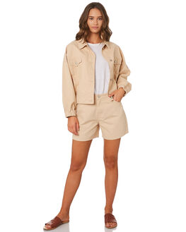 SAND WOMENS CLOTHING ZULU AND ZEPHYR JACKETS - ZZ2624SND