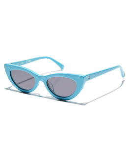 BABY BLUE WOMENS ACCESSORIES OSCAR AND FRANK SUNGLASSES - 023BBBBLU