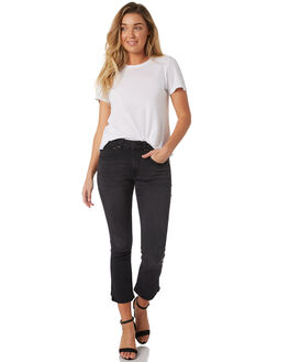 BLACK WASH WOMENS CLOTHING THE HIDDEN WAY JEANS - H8183194BKWSH