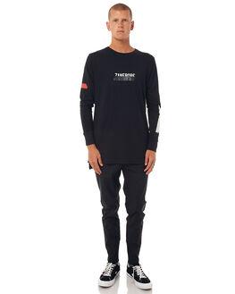 BLACK MENS CLOTHING ZANEROBE TEES - 120-TDKBLK