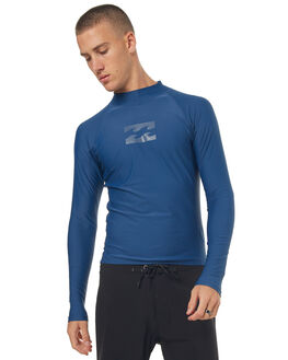 BLUE SLATE SURF RASHVESTS BILLABONG MENS - 9771013BSLT