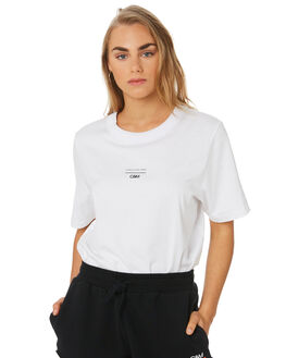 SOFT WHITE WOMENS CLOTHING C&M CAMILLA AND MARC TEES - VCMT6961SWHI
