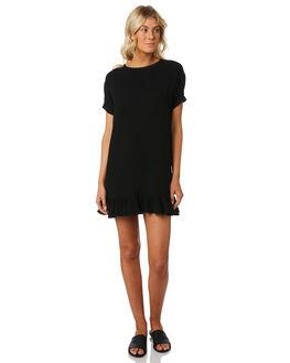 BLACK WOMENS CLOTHING SWELL DRESSES - S8184455BLACK