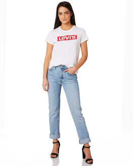 LOVEFOOL WOMENS CLOTHING LEVI'S JEANS - 12501-0302LOVE