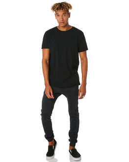 MILLED BLACK MENS CLOTHING ZANEROBE PANTS - 713-FTMILBK