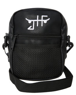 BLACK MENS ACCESSORIES THE BUMBAG CO BAGS + BACKPACKS - C0019BLK