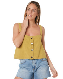CHARTREUSE WOMENS CLOTHING RUSTY FASHION TOPS - WSL0624CRT