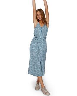 BLUE HAZE WOMENS CLOTHING BILLABONG PLAYSUITS + OVERALLS - BB-6591507-BN4