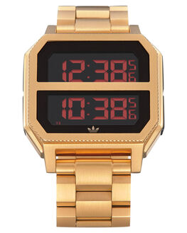 ALL GOLD MENS ACCESSORIES ADIDAS WATCHES - Z21-502