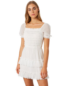 MILK WHITE WOMENS CLOTHING THE EAST ORDER DRESSES - EO190830DMILK