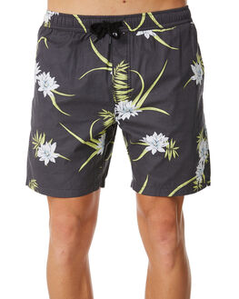BLACK MENS CLOTHING SWELL BOARDSHORTS - S5184235BLACK
