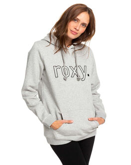 HERITAGE HEATHER WOMENS CLOTHING ROXY JUMPERS - ERJFT03997-SGRH