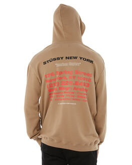 SAND MENS CLOTHING STUSSY JUMPERS - ST085206SAND