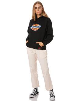 BLACK WOMENS CLOTHING DICKIES JUMPERS - KW3190501BK