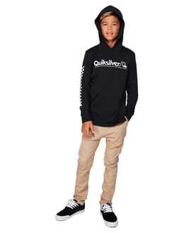 BLACK KIDS BOYS QUIKSILVER JUMPERS + JACKETS - EQBZT04023-KVJ0
