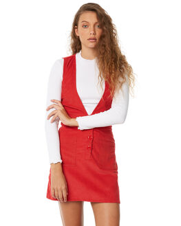 RED OUTLET WOMENS RUE STIIC DRESSES - SW18-23RDRED