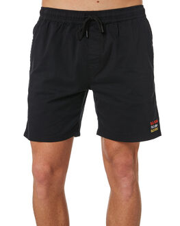 BLACK MENS CLOTHING NO NEWS BOARDSHORTS - N5184231BLACK