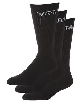 BLACK MENS CLOTHING VANS SOCKS + UNDERWEAR - VN-0XSEBLKBLK