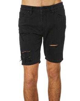 BLOWOUT BLACK MENS CLOTHING ROLLAS SHORTS - 151932286