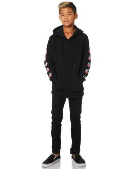BLACK KIDS BOYS SANTA CRUZ JUMPERS + JACKETS - SC-YFC9239BLK