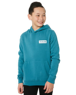 MINERAL TEAL KIDS BOYS HURLEY JUMPERS + JACKETS - CK0005322
