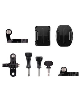 BLACK MENS ACCESSORIES GOPRO AUDIO + CAMERAS - AGBAG-002BLK