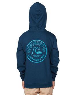 MOONLIT OCEAN KIDS BOYS QUIKSILVER JUMPERS + JACKETS - EQBFT03553-BYK0