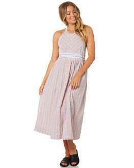 PINK COMBO WOMENS CLOTHING FREE PEOPLE DRESSES - OB9216666024