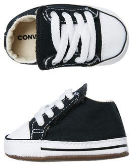 BLACK KIDS BABY CONVERSE FOOTWEAR - 865156CBLK