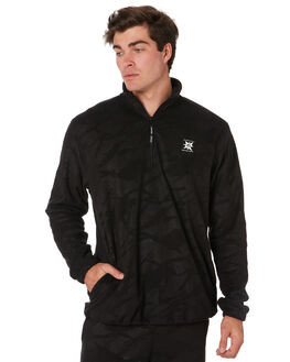 BLACK MENS CLOTHING VOLCOM JUMPERS - A4631950BLK