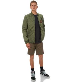 VINTAGE GREEN MENS CLOTHING DC SHOES JACKETS - EDYJK03137GZJ0