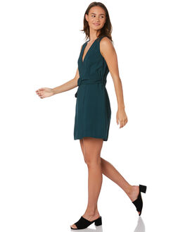 FOREST GREEN WOMENS CLOTHING STEVIE MAY DRESSES - SL190628DFORGR