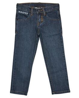 BEATEN BLUE OUTLET KIDS MUNSTER KIDS CLOTHING - MK162JE05BTBLU