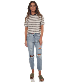 MULLHOLLAND BUSTED WOMENS CLOTHING WRANGLER JEANS - W-950942-EA6BSTD