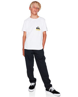 BLACK KIDS BOYS QUIKSILVER PANTS - EQBFB03078-KVJ0