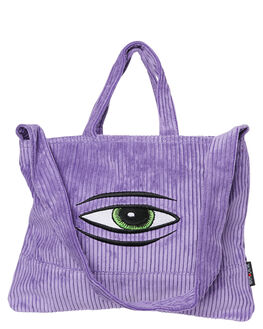 PURPLE MENS ACCESSORIES THE BUMBAG CO BAGS + BACKPACKS - C0017PURP