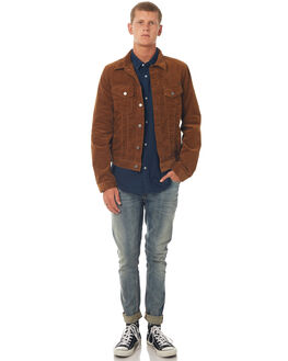 LION MENS CLOTHING NUDIE JEANS CO JACKETS - 160519C17