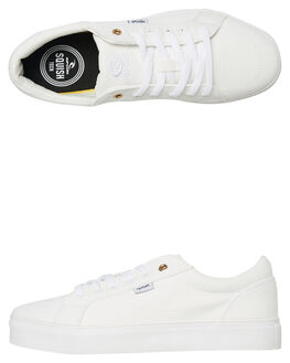 WHITE WOMENS FOOTWEAR RIP CURL SNEAKERS - TGLAG21000