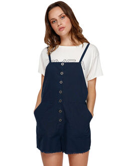 NAVY MARINE WOMENS CLOTHING RVCA PLAYSUITS + OVERALLS - R291758NVY