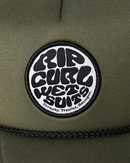 MID GREEN MENS ACCESSORIES RIP CURL HEADWEAR - CCAOG19436