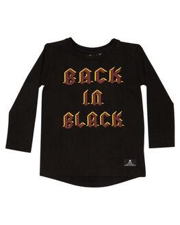 BLACK KIDS BOYS ROCK YOUR KID TOPS - TBT1939-BIBLK