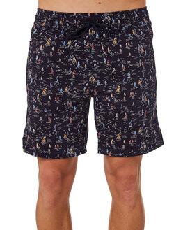 NAVY COMBO MENS CLOTHING ACADEMY BRAND SHORTS - 19S640NVCOM