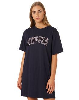 NAVY WOMENS CLOTHING HUFFER DRESSES - WDR93S8509NAVY