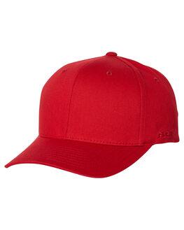 RED MENS ACCESSORIES FLEX FIT HEADWEAR - 161601RED