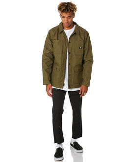 GRAPE LEAF MENS CLOTHING VANS JACKETS - VNA456ZTTDGRN