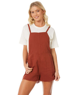 RUST WOMENS CLOTHING RVCA PLAYSUITS + OVERALLS - R281759R24