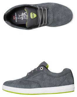 CHARCOAL MENS FOOTWEAR GLOBE SNEAKERS - GBEAGLE-15251
