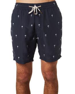 PALMS EMBRO NAVY MENS CLOTHING BARNEY COOLS SHORTS - 624-CR3PALNV