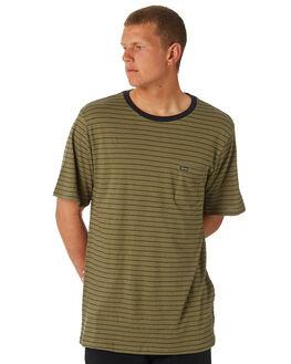 VINTAGE GREEN MENS CLOTHING VOLCOM TEES - A01118R2VYG