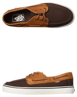 COFFEE BEAN BROWN MENS FOOTWEAR VANS SNEAKERS - VN-A32SCOM3BRN